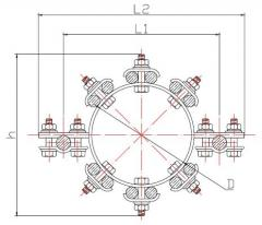 Внутрифазовые подстанционные распорки (Типа ВПР)