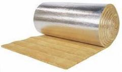 Thermal insulation is rolled