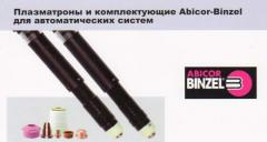 Plasmatrons and Abicor-Binzel accessories for