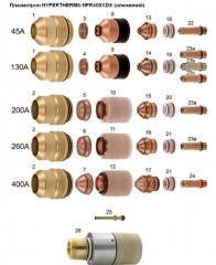 Plasmatron of HYPERTHERM® HPR400XD® (aluminum)