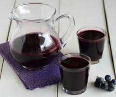 The concentrated grape juice - not clarified