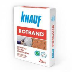 Plaster Rotband, sateen of 25 kg