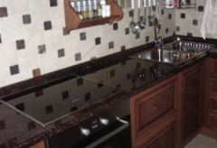 Stoleshni for kitchens from granite