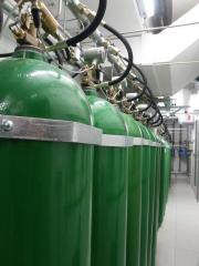 Protective gas mixes