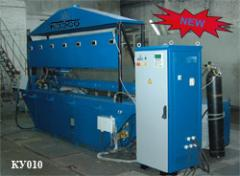 Automatic machine for arc welding of KU-010