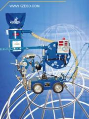 Automatic machine for arc welding of KA 002