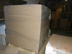 Electrocardboard (sheet)