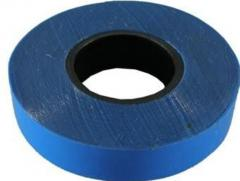 The PVC insulating tape blue width is 12/15/20 mm