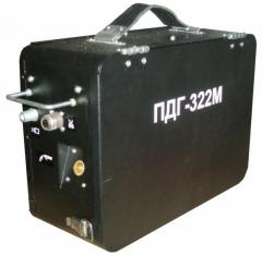 Semiautomatic device of arc welding of PDG-322 of M