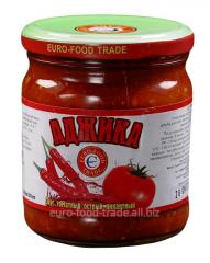 Adjika (juicy tomato sauce) of 430 ml
