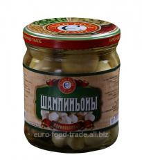Champignon mushrooms marinated house 430 ml