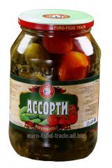 Allsorts No. 6 (cucumbers, tomatoes) 1 l