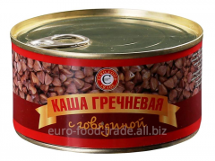 Buckwheat cereal with beef 325 gr