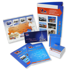 Full range of printed materials