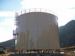 Steel tanks for dietilenglyukolya