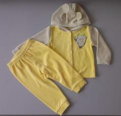 Детский костюм, на капюшоне ушки модель 15
