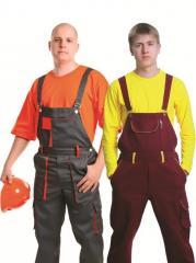 Work overalls