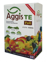 Fertilizer Aggis ME (EDDHA) Fe of 6%