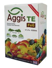 Fertilizer Aggis ME (EDDHA) Fe of 6%
