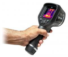 Thermal imagers for diagnostics of electric