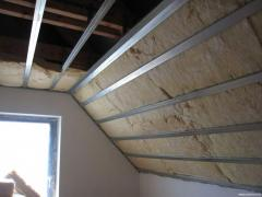 Thermal insulation of rooms