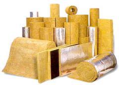 Materials insulating of basalt fiber