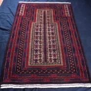 Afghan Mehrab rug