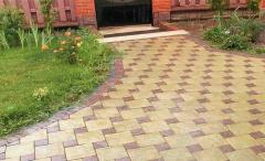 Paving slabs from the producer