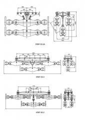 Подвес многороликовый типа 3П6Р, 4П6Р