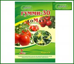 Dry fertilizers of Gum