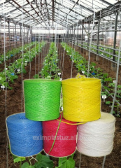Twine for greenhouses