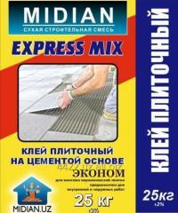 Эконом - Клей плиточный на цементе