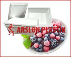 Контейнер из пенополистирола для ягод и фруктов