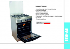 Gas stove 246 XM IDEAL