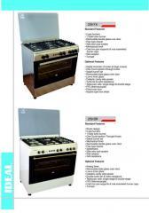 Gas stove 259 FX, 259 BR