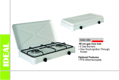 Plate gas dvukhgorelochny household OGC-300