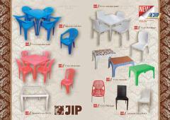 Мебель пластмассовая