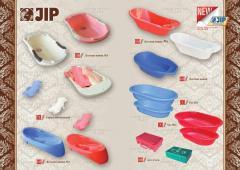 Пластиковые ванны для детей