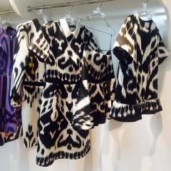 Модная женская одежда из шелковых тканей