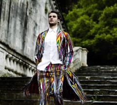 Clothes for men silk cloths
