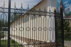 Metal protections and fences