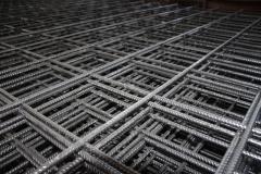 Road welded grid