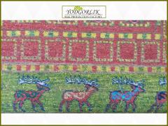 Handwork carpet from wool