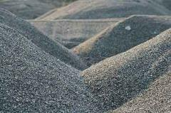Crushed stone from a river stone 5-20mm