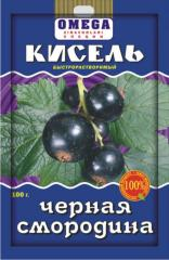Kissel blackcurrant are instan