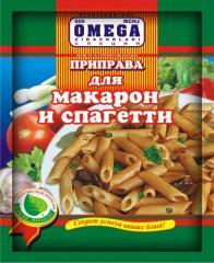 Seasoning for macaroni and spaghetti