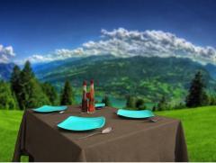 The EMA AD jacquard tablecloths - 763