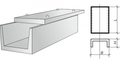 Plates for trays of heating mains (2970х1500х100)