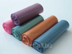 Мешки из полиэтилена- мусорные пакети (мешки)