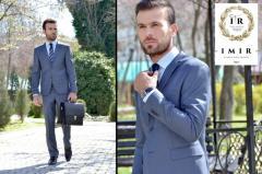 Брюки мужские в комплекте  с пиджаком